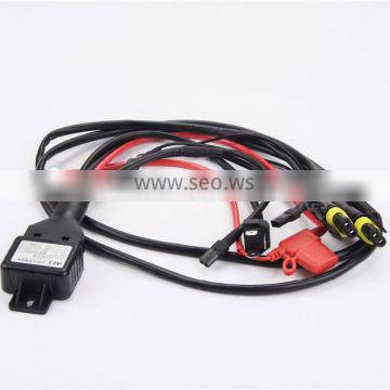 AES factry H4 car wireness harness high/low beam wire waterproof wire high-voltage power lines for car headlights