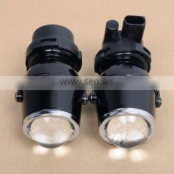 Fog lamp with hid b-xenon projector lens auto light