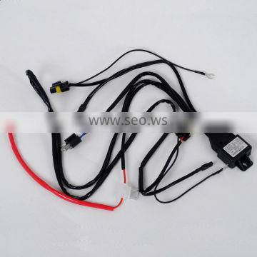 AES car parts H4 wire high low beam wireness harness for automobile car light