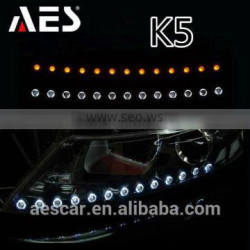 led tearful eyes modified headlight assembly