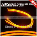 Good Sale Auto LED Lamp Double Colors LED Strip Light for Car Projector Headlights