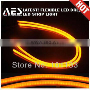 AES Soft LED strip light bixenon headlight daytime running driving
