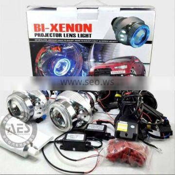 newest version! angel eye+daytime car HID Bi-xenon lamp