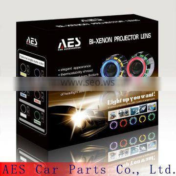 AES hid projector lamp kit h4 4300k hid xenon projector