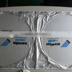 Promotional Nylon fabric Sunshades for car/auto use