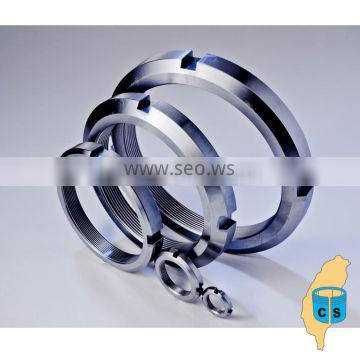 Alibaba express stainless steel round lock nuts
