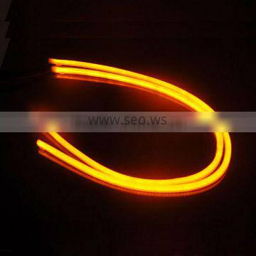 Soft Led strip DRL, turning light, auto parts, 600 mm and 850 mm