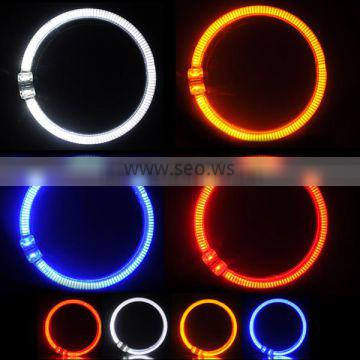 Good quality, AES AUTO headlight 95mm LED angel eyes ring, four color