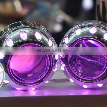 AES led projector lens light motorcycle hid bi-xenon projector lens