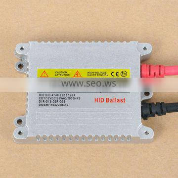 Hot Sale Car lighting 35w Slim HID Xenon ballast, AC