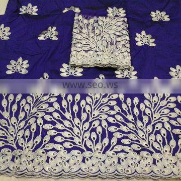 AFRICAN GEORGE FABRICS SWAALI DESIGN NO.08032014-3 WITH BLOUSE