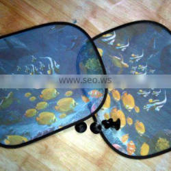 Promotional mesh fabric Sunshades for car/auto side window blind
