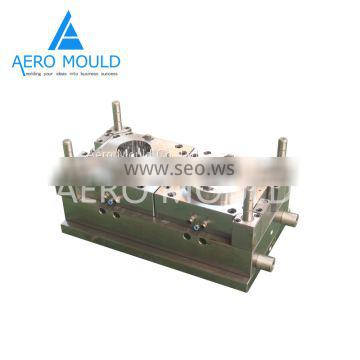Disposable transparent plastic cylinder container mould