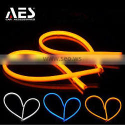 Factory supplier Led strip DRL, turning light, auto parts, white/yellow, white/blue