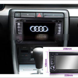 Audi A3 Wifi Waterproof Car Radio 9 Inch 32G