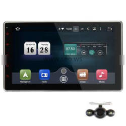 8 Inches Quad Core Android Double Din Radio 1080P For Volkswagen