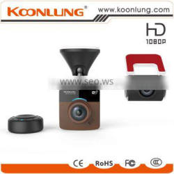 Hong Kong Fair welcomed Factory price new product full HD 1080p wifi two seperated car dvr