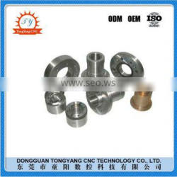 Professional machinery service cnc lathe machine parts from machined spare parts factory