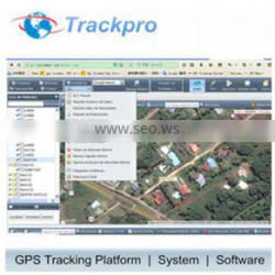 GPS Tracker control Web Online Server supporting Teltonika FM1100
