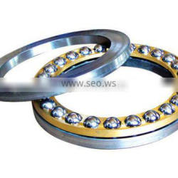 steel/brass cage thrust ball bearings 51309