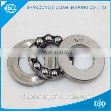 Good quality hot sale large size thrust ball bearings 51100