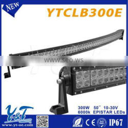 Good waterprof 50inch led light bar and led light bar mount