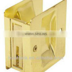 SD04PB-PS:Solid Brass Sliding Pocket Door Pull
