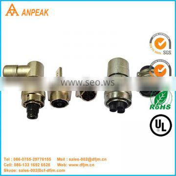 Good Quality Rugged Metal Shielded Auto-Connector