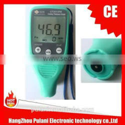 with both micron and mil unit car paint coating thickness measuring instrument