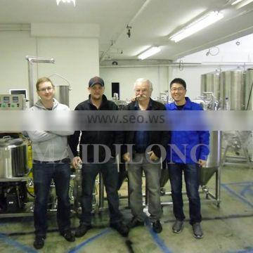 Micro 100l 50l 30l beer Stainless steel 100l home small beer equipment
