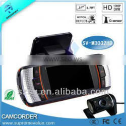 Driving Car Video 1080P HD Dual Camera