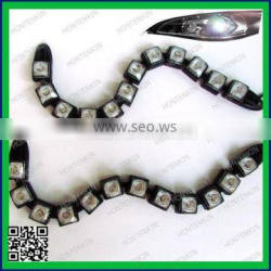 Auto DRL Lens Waterproof universal flexible led snake drl