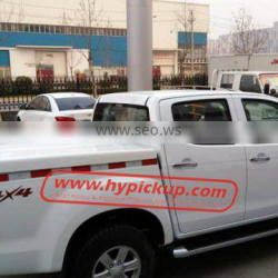 Pickup Accessories 2014D-Max Double Cab Fiberglass Hard Tonneau Cover
