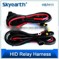 Meishuo h1 h3 h7 h11 9005 9006 hb3 hb4 880 single beam hid conversion kit relay wire harness