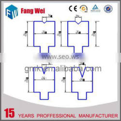 China gold supplier high grade bending cutting press tooling