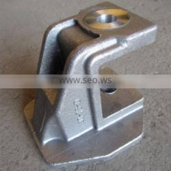 steel bracket casting, investment casting with machining
