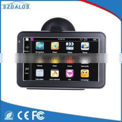 Cheap GPS Bluetooth AV-in functions 128MB smart car gps navigation mt3351 5 inch gps mediatek