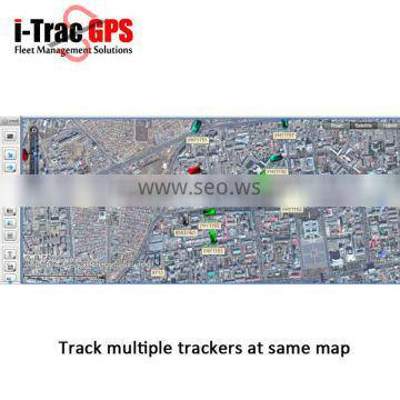 gps tracking system supports google earth, android and iphone