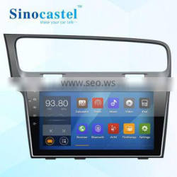 Factory price for Android car dvd player in dashboard for VW golf series