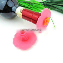 Promotional silicone wine crown bottle cap