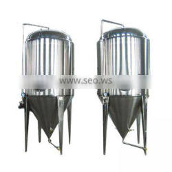 stainless steel conical inox beer milk fermentation tank