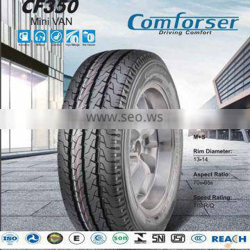 COMFORSER brand Wholesale Price 13 Inch Radial Car Tire With High Quality