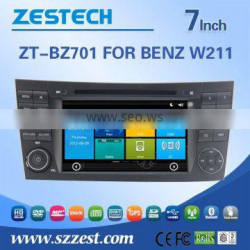 2 din car dvd for BENZ W211 with Rear View Camera GPS BT IPOD TV Radio RDS