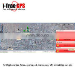 online gps gprs tracking system supports google earth, bing map and android
