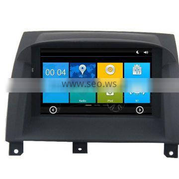 In dash double din car dvd gps for MG3 with Rear View Camera GPS BT Radio RDS