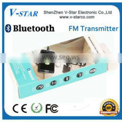 Hot selling private Car FM Transmitter MP3 with bluetooth