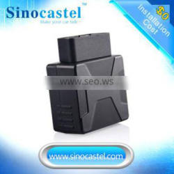 Plug & Play IDD-213GL GSM OBD Car GPS Tracker Provide Vehicle Tracking Systerm Support