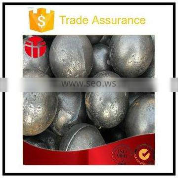 40mmForged steel ball low breakage for power plant