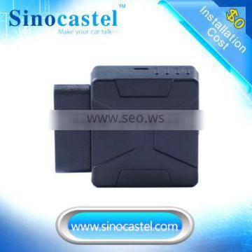 3G ObdII GPS tracker with a google map link