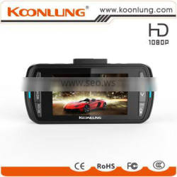 GPS WIFI dual camera full HD detached car DVR security camera